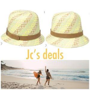 🌵🌼 Volcom ladies treat yourself straw hat 🌼🌵